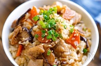 【鶏五目混ぜご飯】おかわり必須♬︎たっぷり食べたい混ぜご飯