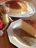 ヘルシースフレチーズケーキ☆