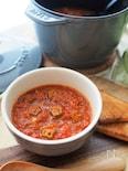 ピリ辛がクセになる!ツナ缶でガンボスープ
