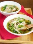 【包丁不要】包まない ワンタン風スープ