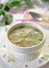 『風邪予防に♡レンコンと豚肉のとろみスープ』