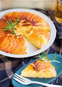 『りんごとカマンベールのフライパンケーキ♡HMで簡単でも本格!』