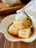 カリフワ揚げ出し豆腐