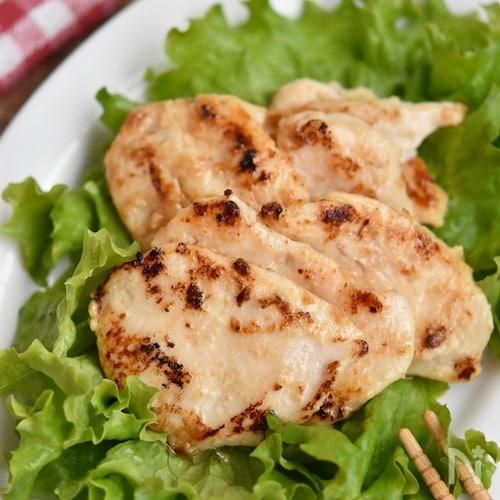 鶏むね肉の味噌漬け【作り置き】