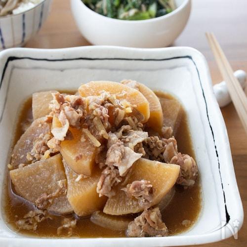『味しみ!大根と豚肉の味噌煮』#簡単#ご飯がすすむ