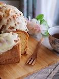 ホケミで簡単♡ダブルチーズのパウンドケーキ