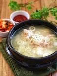 鶏の煮込みスープ*タッコムタン*