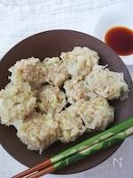 野菜たっぷり☆やわらかジューシーな豆腐入りシュウマイ