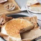 フライパンで作る♪くるみとチーズの米粉パン(グルテンフリー)