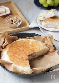 『フライパンで作る♪くるみとチーズの米粉パン(グルテンフリー)』
