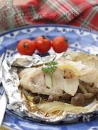 鱈のホイル焼き『きっちり綺麗な包み方』で、旨味を逃さない