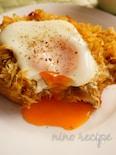 とろーり卵とカレーキャベツのトースト