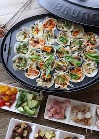 『芋•栗•南京♪餃子の皮でひとくちピザパーティー★』