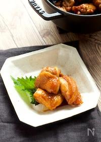 『【作り置き・お弁当】鶏肉の照り煮』