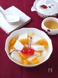 のどごしつるりん!ひんやり美味しい杏仁豆腐