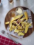 【食べすぎ注意】フライドさつま芋のはちみつマヨがけ