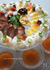 『エスニックで七夕麺パーティー』