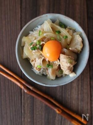 料理初心者さん応援レシピ✴︎玉ねぎトロトロの豚丼