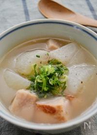 『ベーコンと大根の「コン根スープ」』