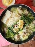 鶏肉の塩燻製バター鍋