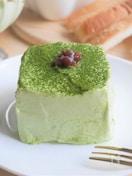 食パンで☆抹茶とあずきの和なミニケーキ