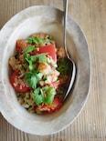 トマトとキヌアのサラダ