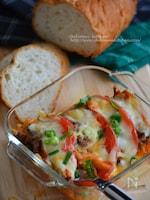 即つま!サバ・トマ・キムチのチーズ焼き
