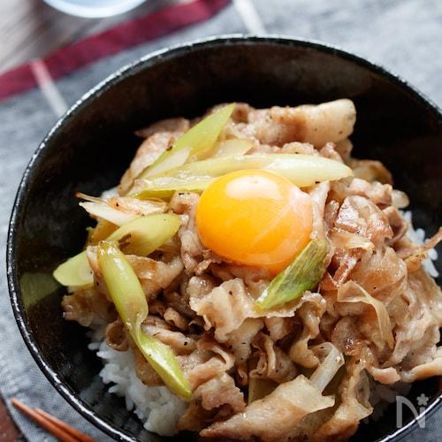 伝説のすた丼(風)【#作り置き#冷凍保存#スタミナ丼】