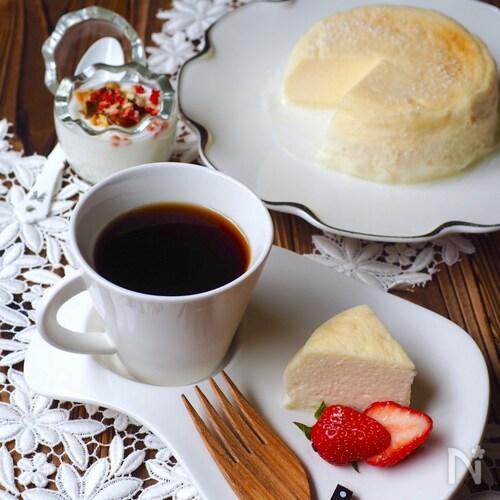 瞬溶け!生スフレヨーグルトケーキ