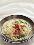 白菜のスープパスタ