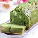 ホワイトチョコと抹茶のパウンドケーキ【グルテンフリー】