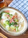 あったかヘルシー♩白菜と豆腐のとろ旨煮