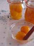 金柑のシナモン煮。