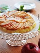 お鍋ひとつで*りんごのケーキ ~バター不使用~