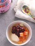 絹ごし豆腐の豆花風スイーツ