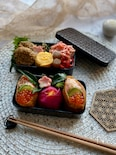 おせちのリメイク!紅白なますの寿司弁当