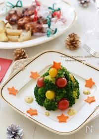 『ブロッコリーのツリーサラダ』