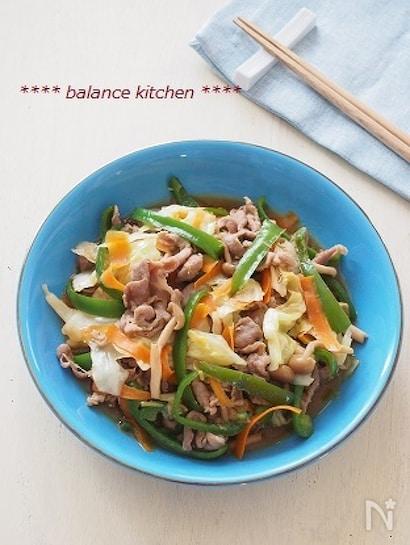 お肉やわらか。豚肉と野菜のオイスター炒め