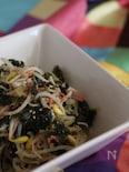 豆もやしと海苔のナムル