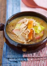 『食べ過ぎのリセットに♪男子も喜ぶ『ちゃんぽん風おかずスープ』』