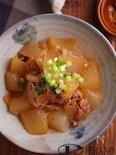 豚バラと大根の甘辛煮♪