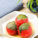 【無限トマト】ポン酢とゴマ油の風味がたまらない!
