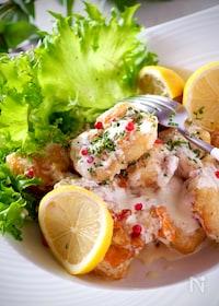 『感動の柔らかさ*簡単鶏むね肉でデリ惣菜風マヨチキン』
