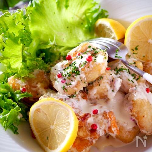 感動の柔らかさ*簡単鶏むね肉でデリ惣菜風マヨチキン