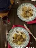 鶏肉とポテトのブルーチーズ煮込み
