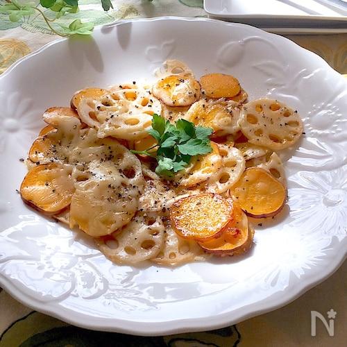 とろ〜りチーズと蜂蜜にブラペでやみつき♡秋のおつまみ