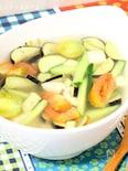 パッパッと10分♪夏野菜と豆腐のアジアンスープ