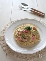 豆腐クリーム【和風】ズッキー二の豆腐クリームスパゲッティ