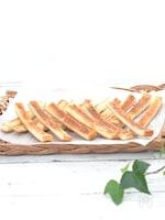 パン耳で☆マヨチーズのおつまみラスク