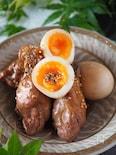 【調味料3つほっとくだけ】鶏手羽元とゆで卵のさっぱり黒酢煮